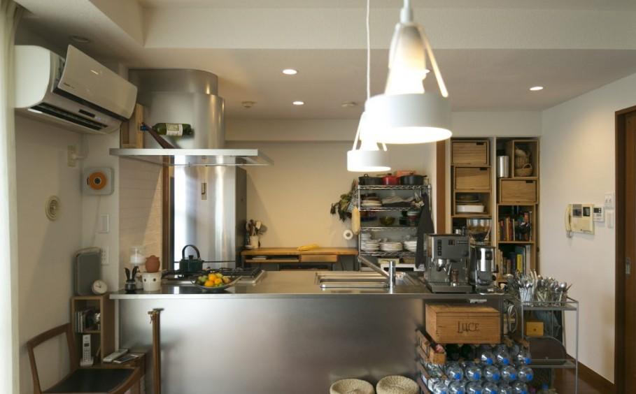 料理教室の生徒さんからも好評な、お気に入りのキッチンです。
