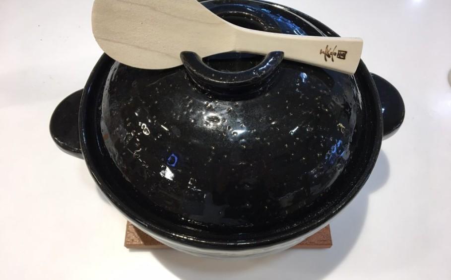 土鍋でご飯を炊きました~!!