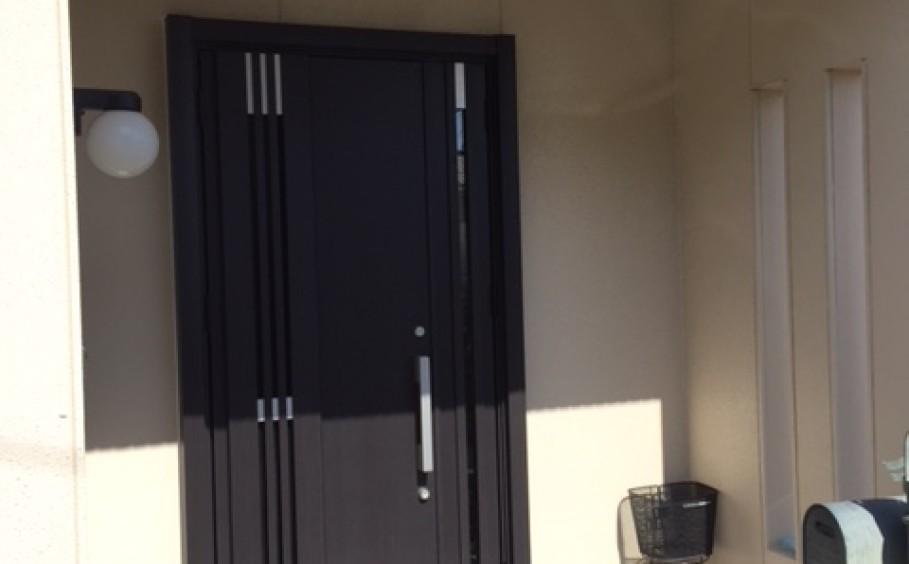玄関ドア 1day Reform