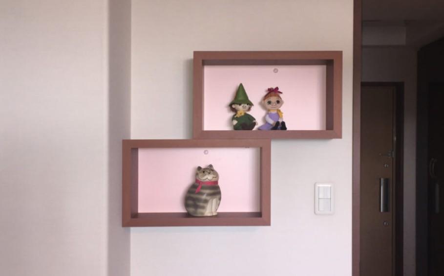 飾り棚で模様替えしてみませんか?~リフォーム・インテリアのことならサーラ~