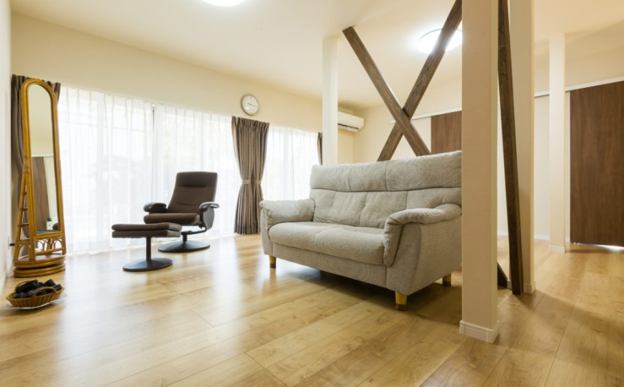 築年数の古い我が家を、近代的な空間にリノベーション