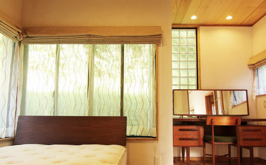 自然素材で心地よい寝室~リノベーション事例~